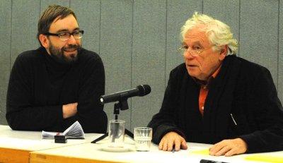 Peter Ullrich und Wolfgang Benz (Foto: Jürgen Jansen)